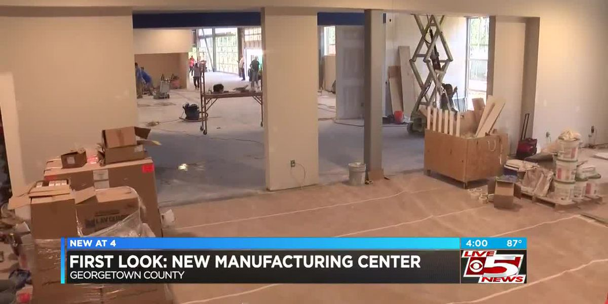 VIDEO: Technical college manufacturing center expected to train workers in Georgetown area