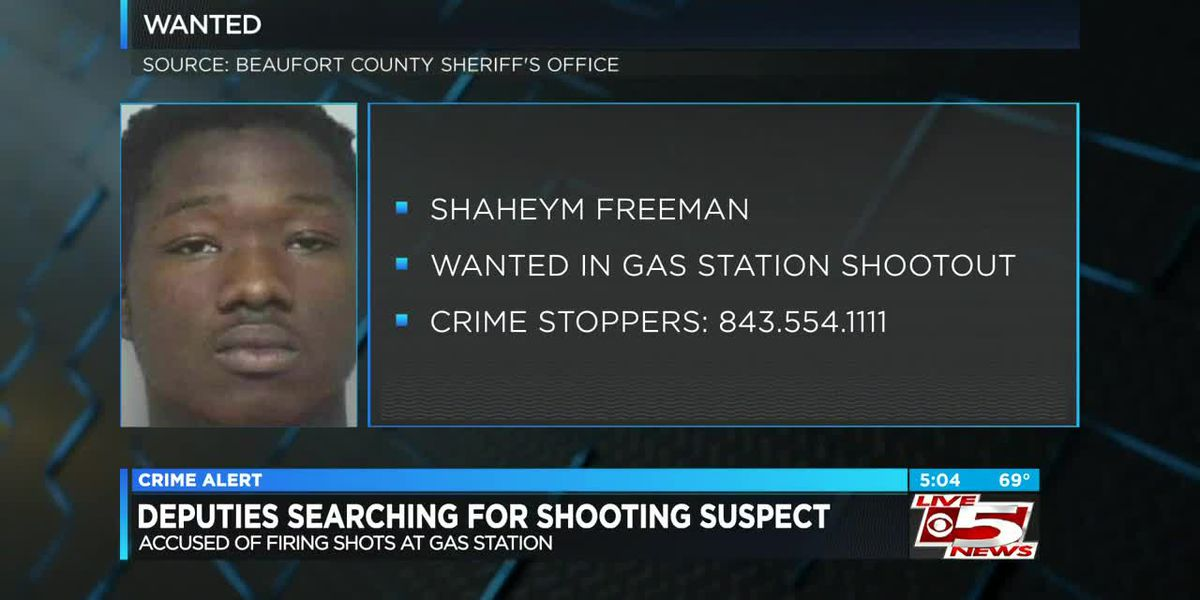 VIDEO: Deputies searching for 18-year-old in shootout at gas station