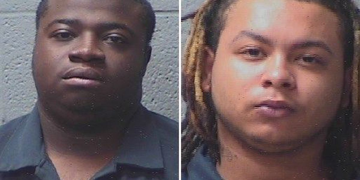 Two men accused of carjacking, chase in Orangeburg County