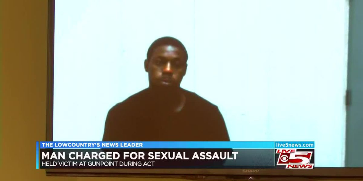 VIDEO: Man charged after sexually assaulting neighbor at gunpoint