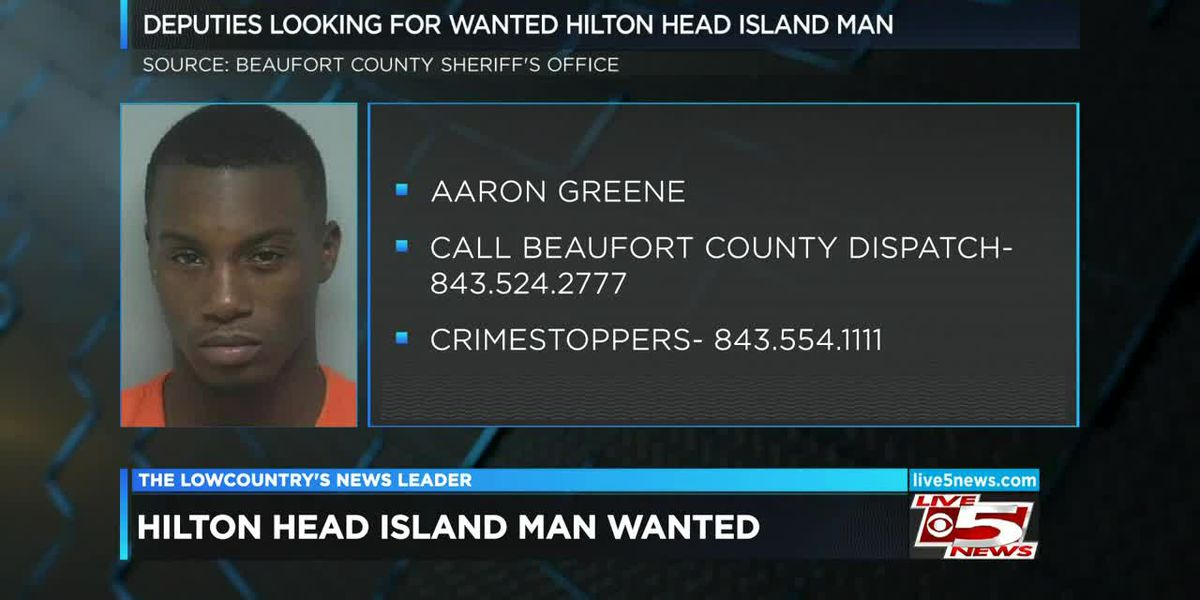 VIDEO: Beaufort Co. deputies searching for wanted man