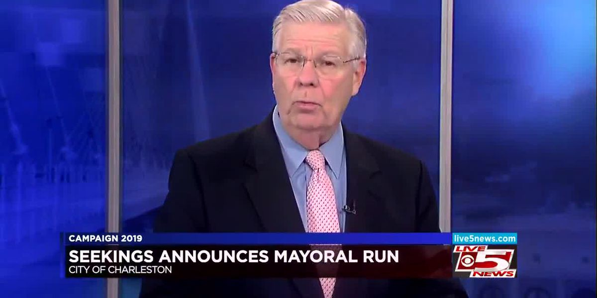 VIDEO: Mike Seekings to run for Charleston mayoral seat