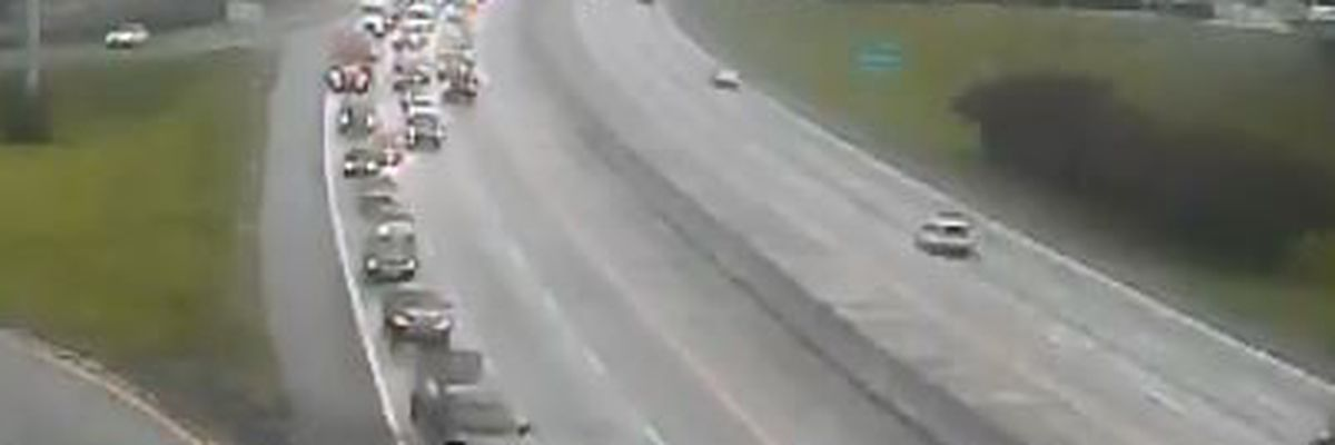 I-26 EB lanes reopen after rush-hour crash