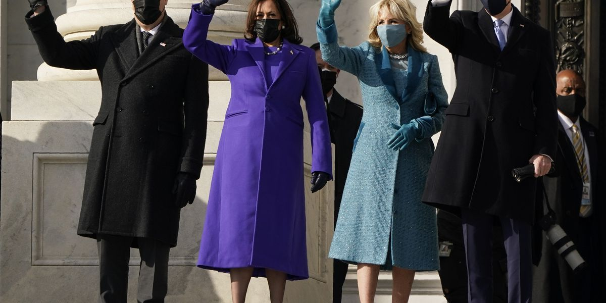 Vice President Harris' inauguration day coat designed by SCAD graduate