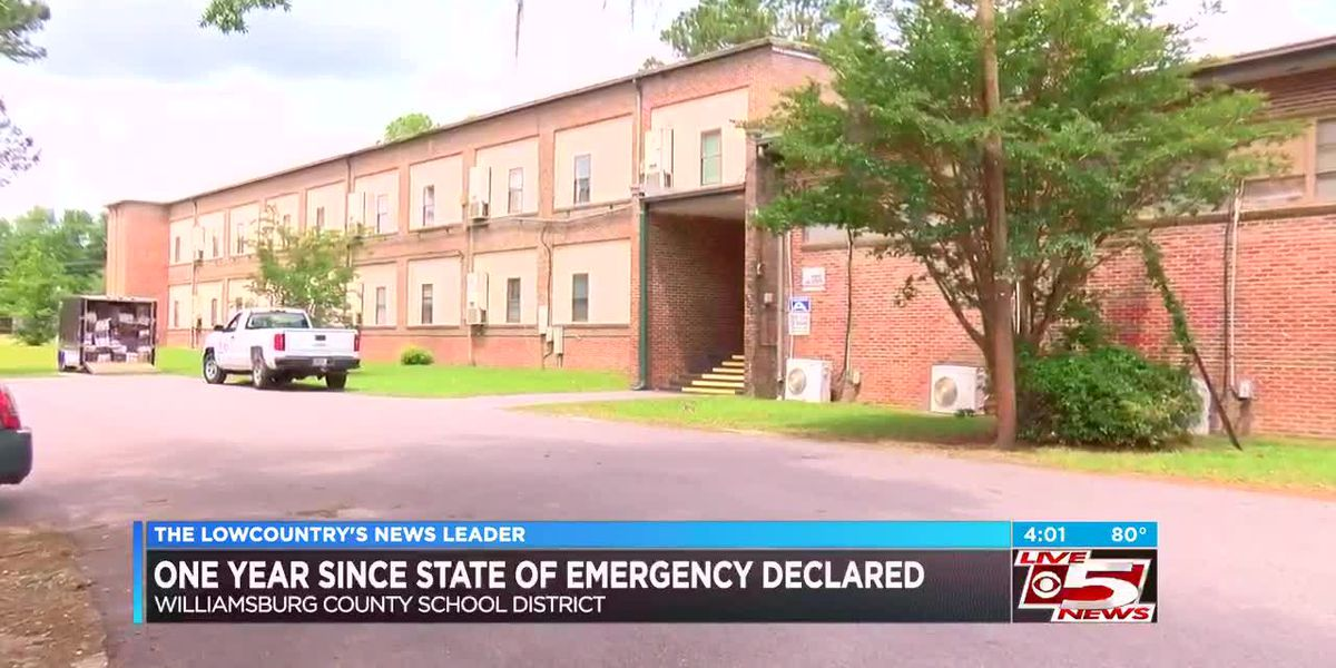 VIDEO: Williamsburg Co. School District makes major improvements year after state of emergency