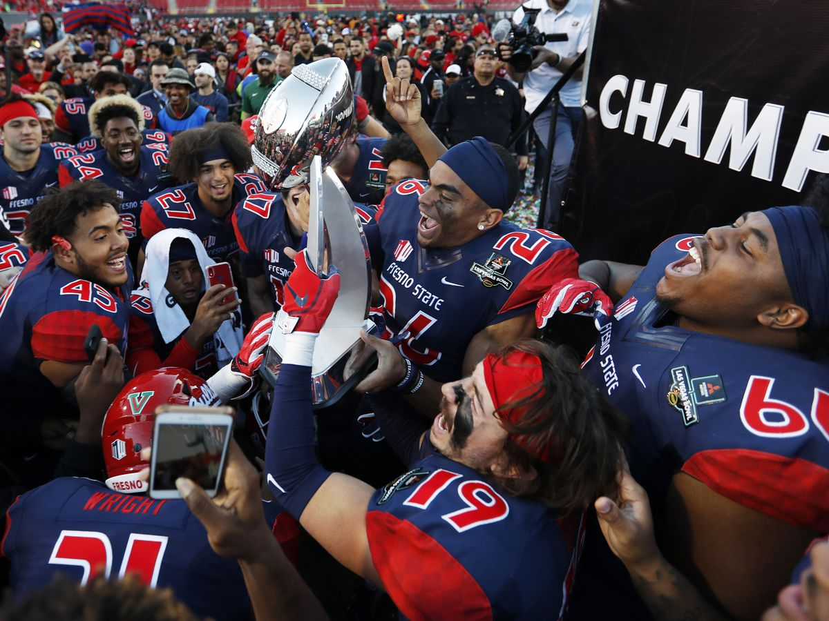 Rivers, Fresno State top Arizona State in Las Vegas Bowl