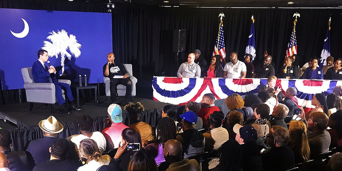 Pete Buttigieg focuses on policies for African American voters in Berkeley County event