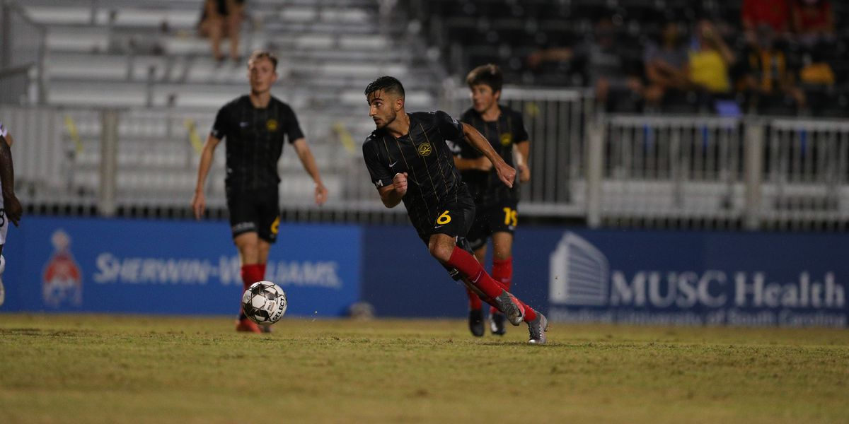 Lewis Lifts Battery Within Reach of Rowdies