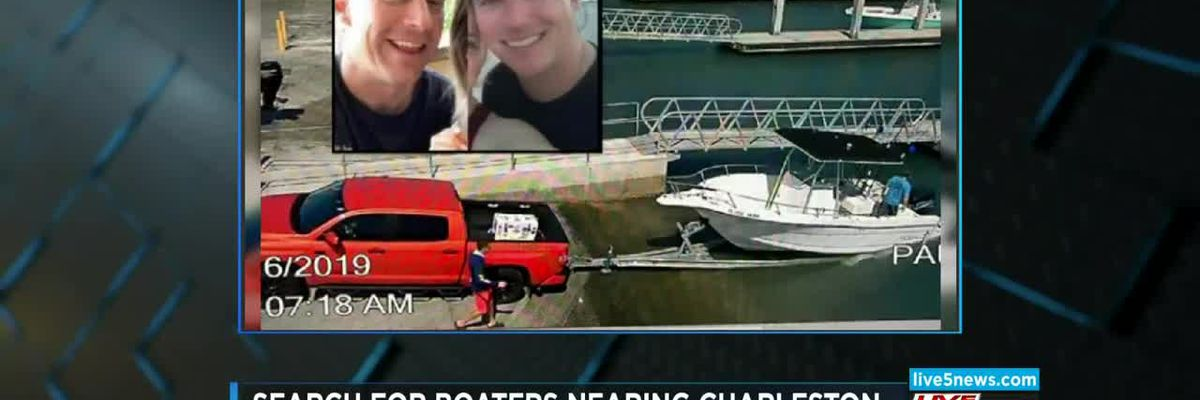 VIDEO: Search for missing firefighters in boat off FL coast moves toward Charleston