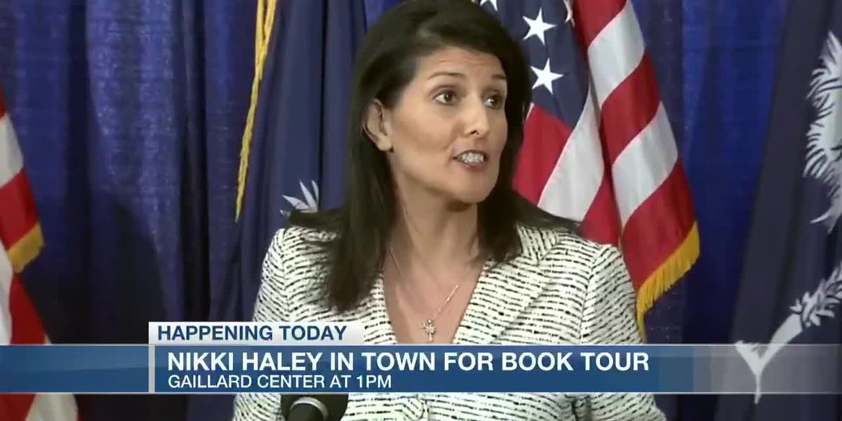 VIDEO: Former Ambassador, S.C. Gov. Nikki Haley visits Charleston on book tour