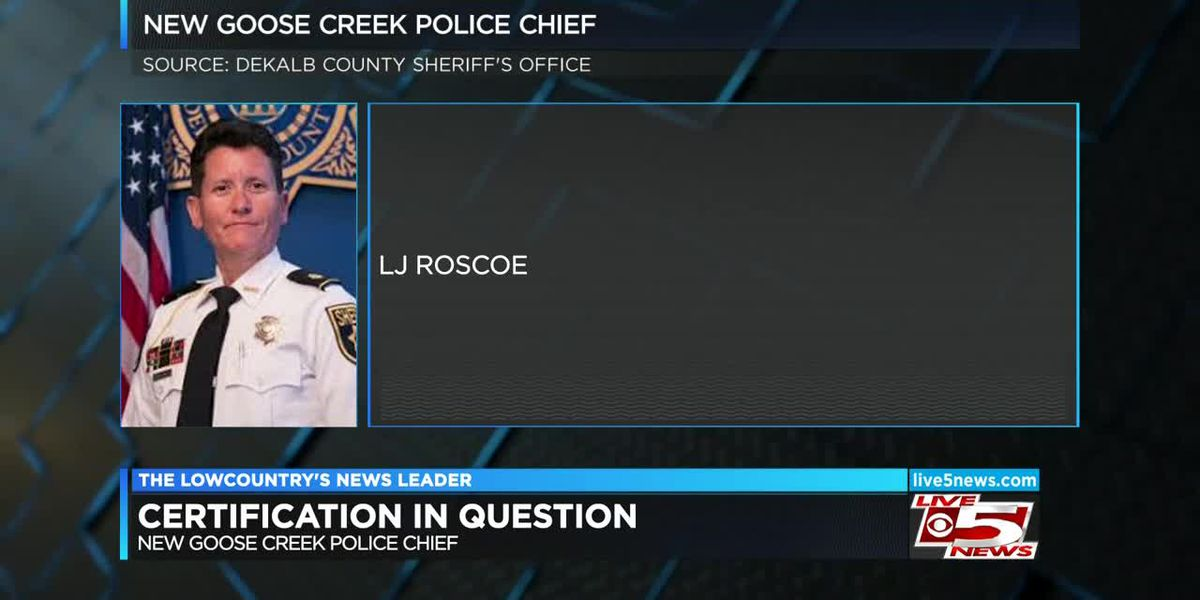 VIDEO: New Goose Creek police chief's law enforcement certification in question