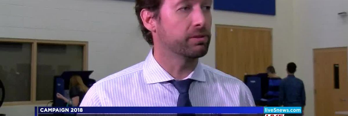 VIDEO: Cunningham hoping for historic 1st Congressional district win