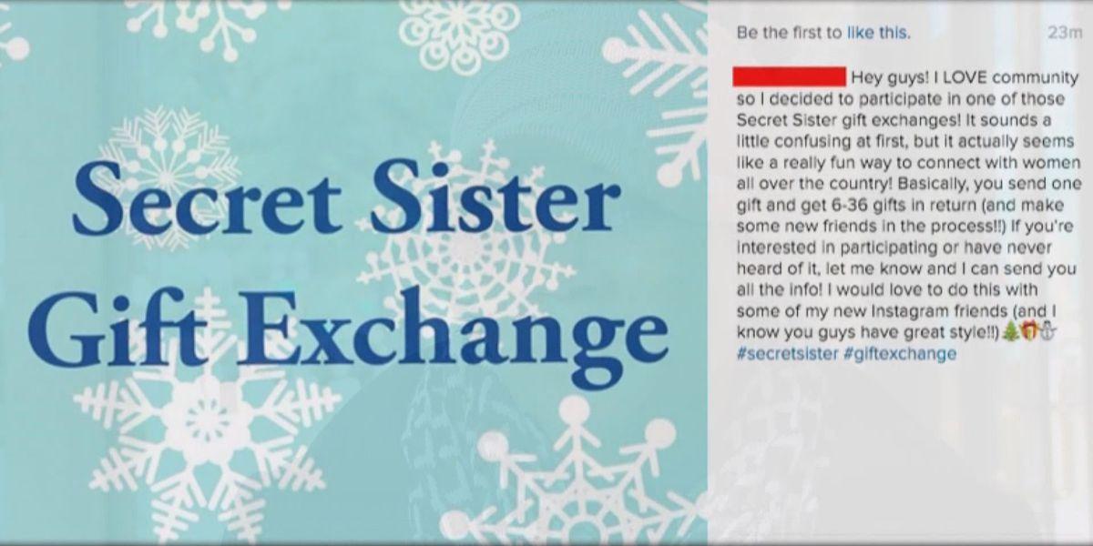 BBB warns social media users of 'Secret Sister Gift Exchange' scam