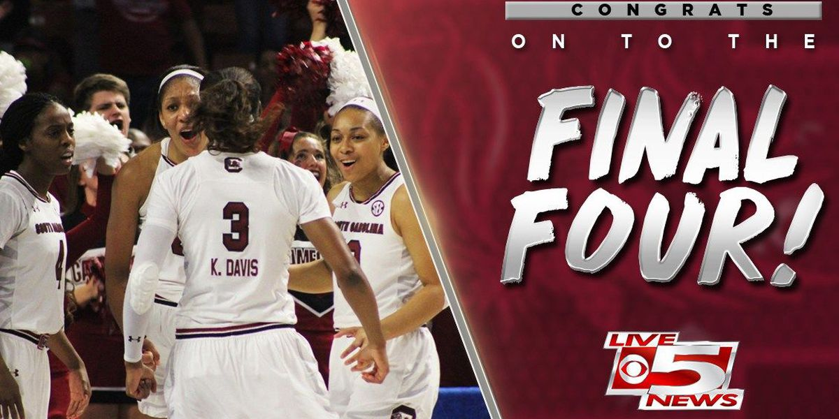 Gamecocks women's basketball team going back to the Final Four