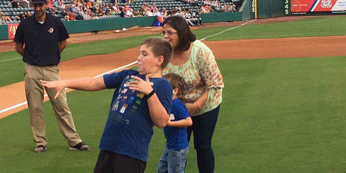 RiverDogs honors memory of Charleston chef with first pitch