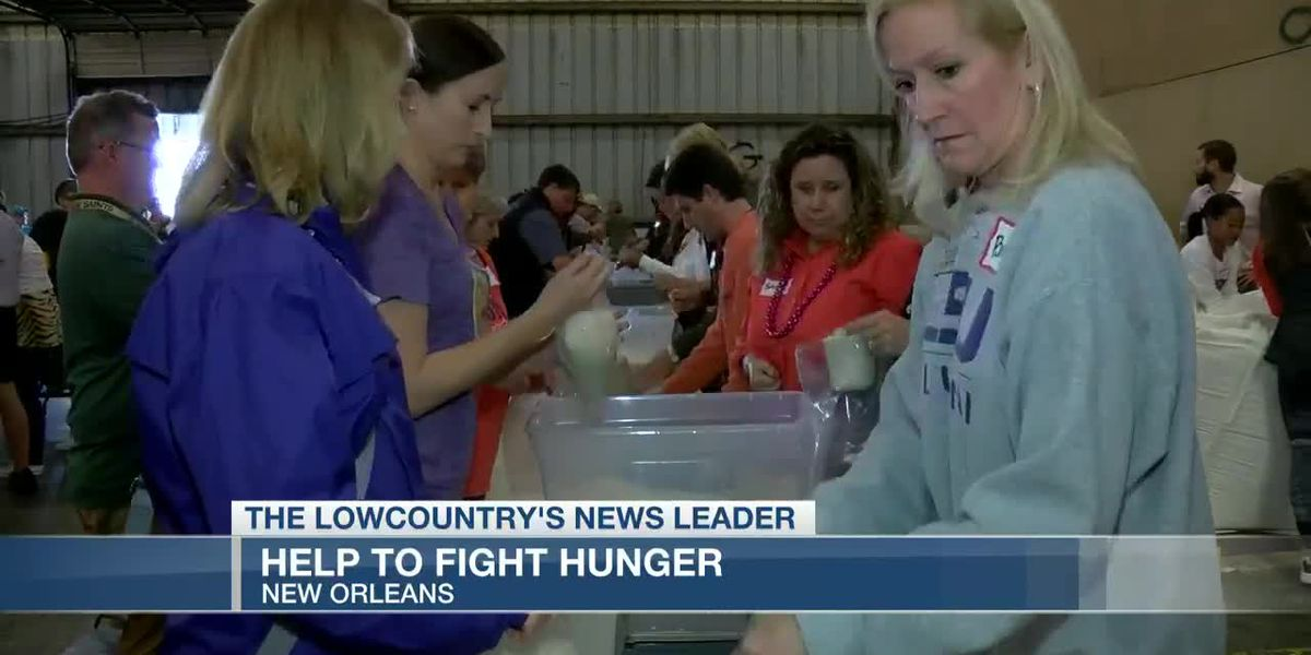 VIDEO: Clemson and LSU staff, alumni come together to fight hunger