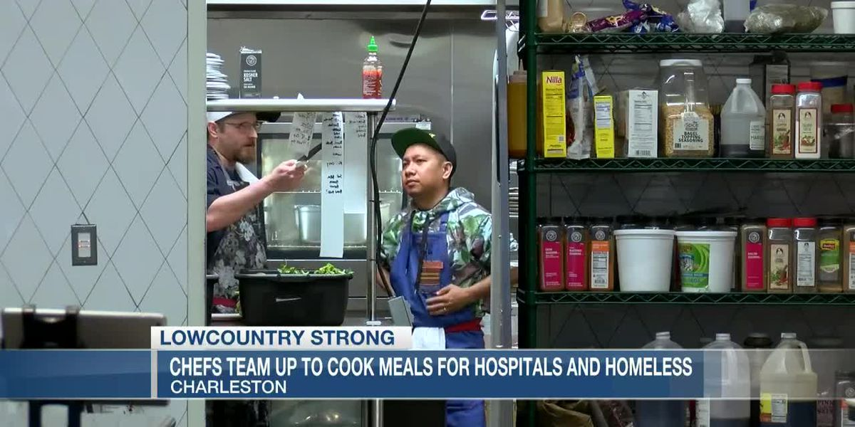 VIDEO: Lowcountry Strong: Chefs team up to make meals for healthcare workers and homeless