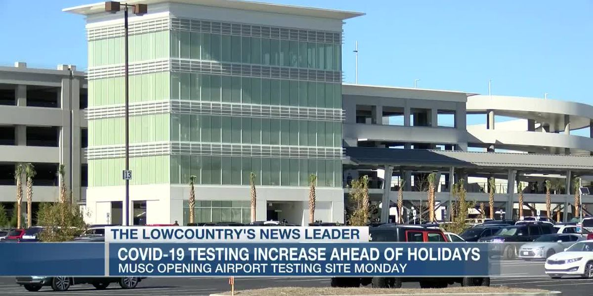 VIDEO: Airport to host mobile COVID-19 testing with MUSC at new parking garage