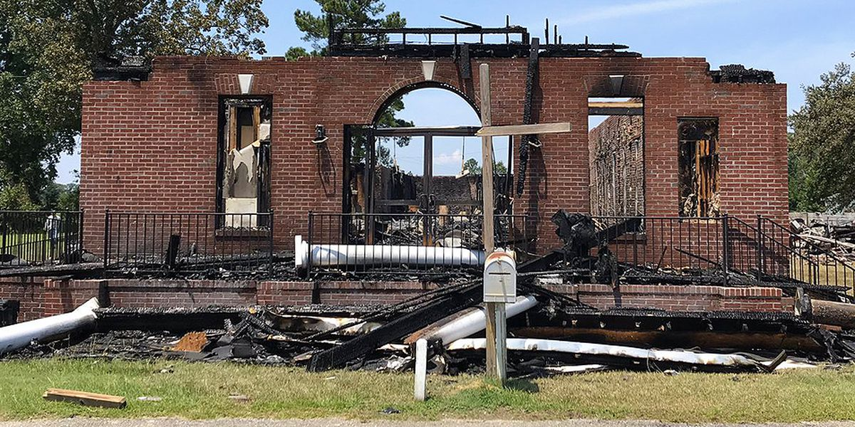 Congregation set to have service on Sunday outside church destroyed by fire