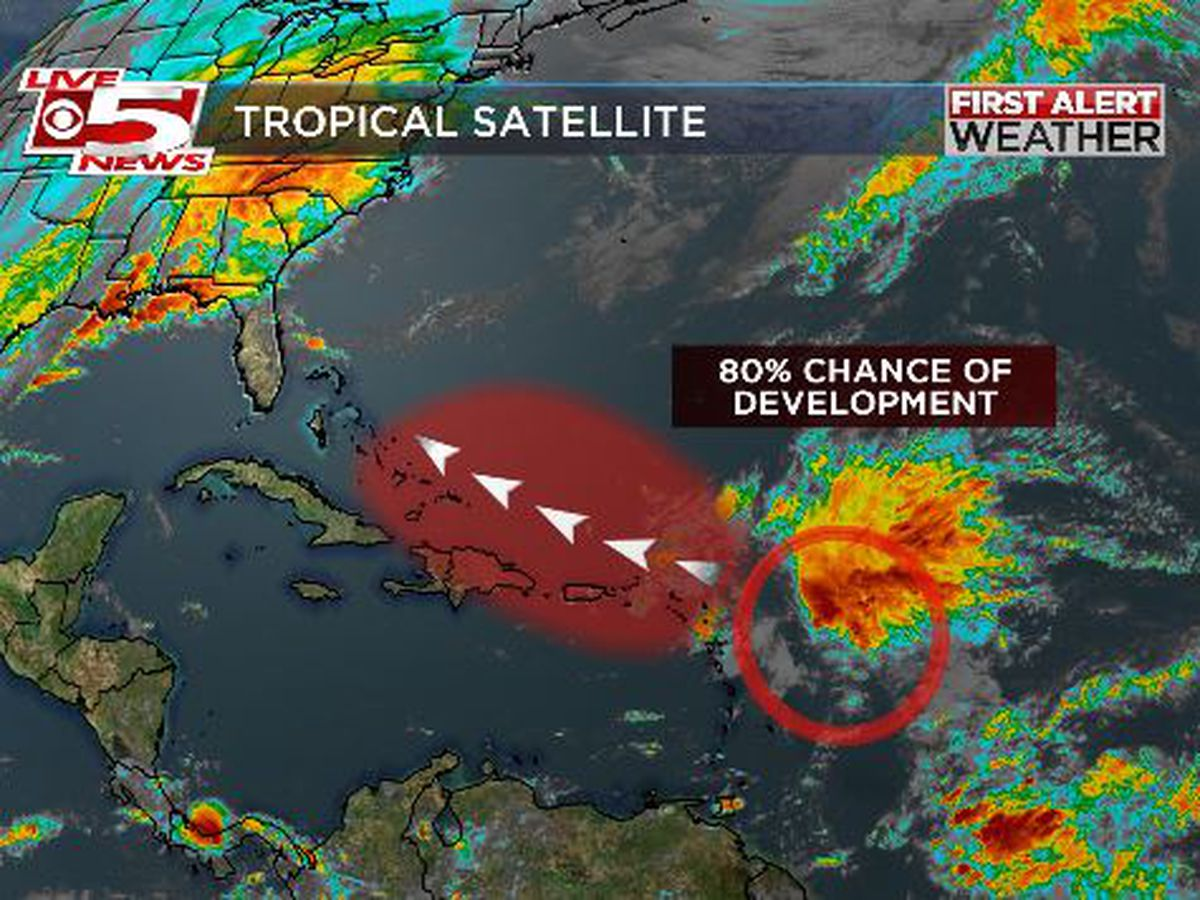 Disturbance could become Tropical Storm Patty this week