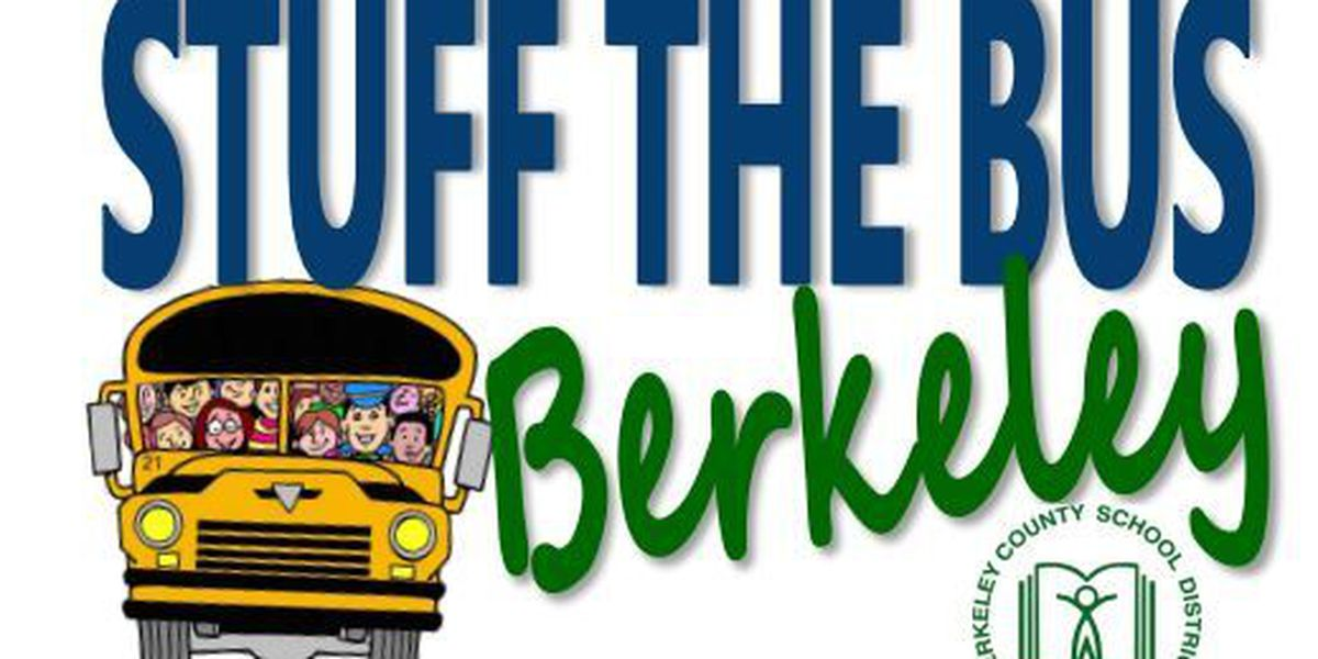 Berkeley County schools ask for donations to 'stuff the bus'