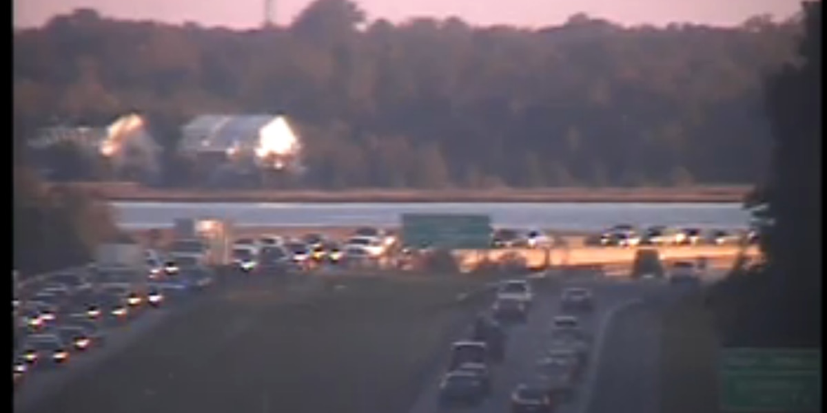 TRAFFIC ALERT: All lanes open on I-526 WB near exit to Glenn McConnell Pkwy after accident