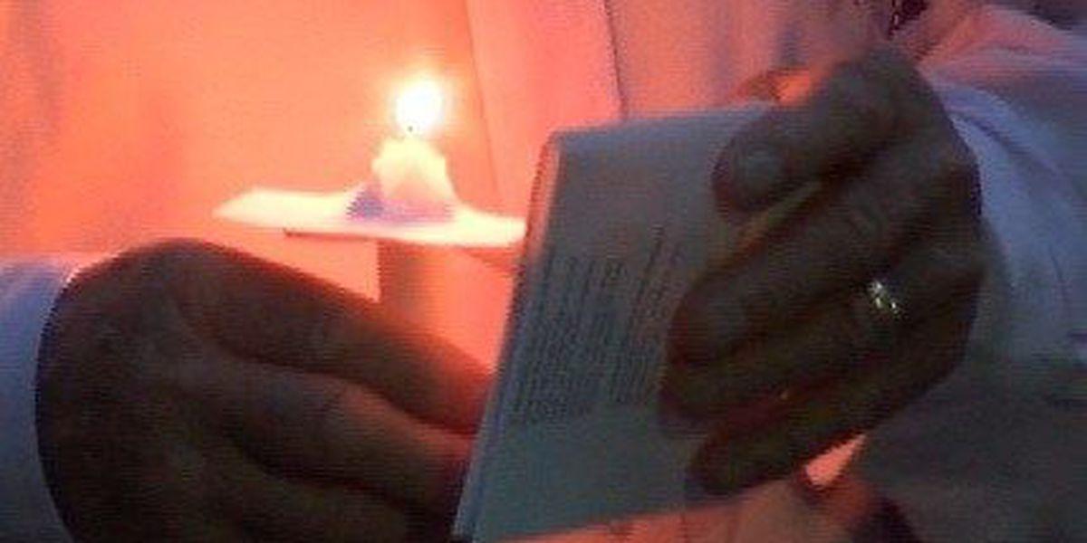 Friends honor Julia Mudgett in touching vigil