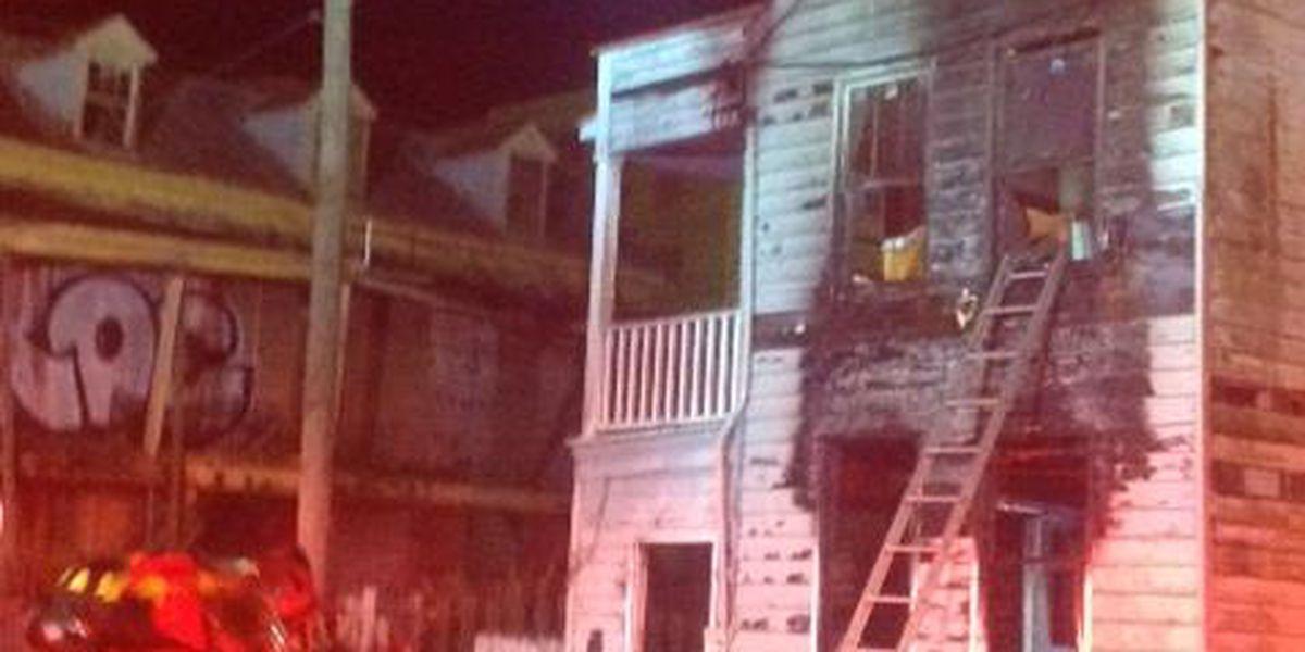 Charleston fire investigating fire on Meeting Street