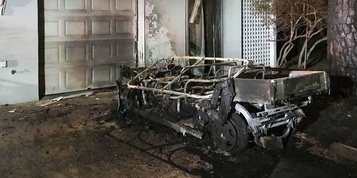 Seabrook Island family warns of golf cart chargers following fire