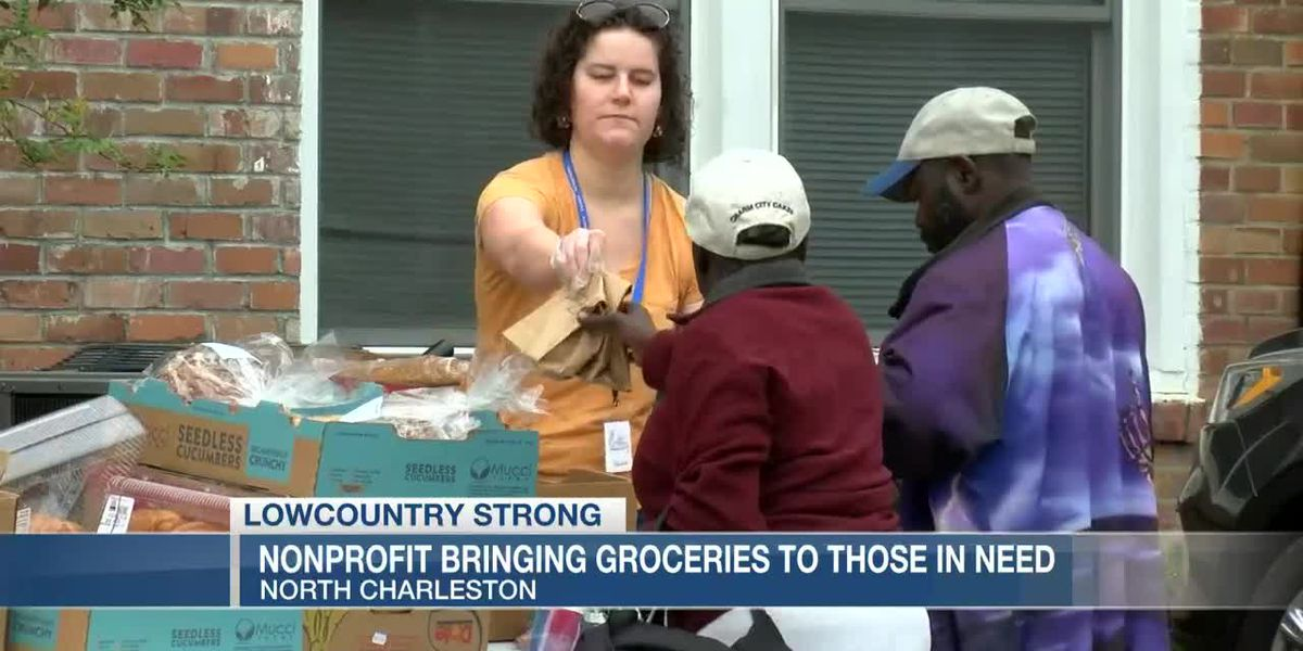 VIDEO: Lowcountry Strong: Tricounty Family Ministries giving out groceries to neighbors in need