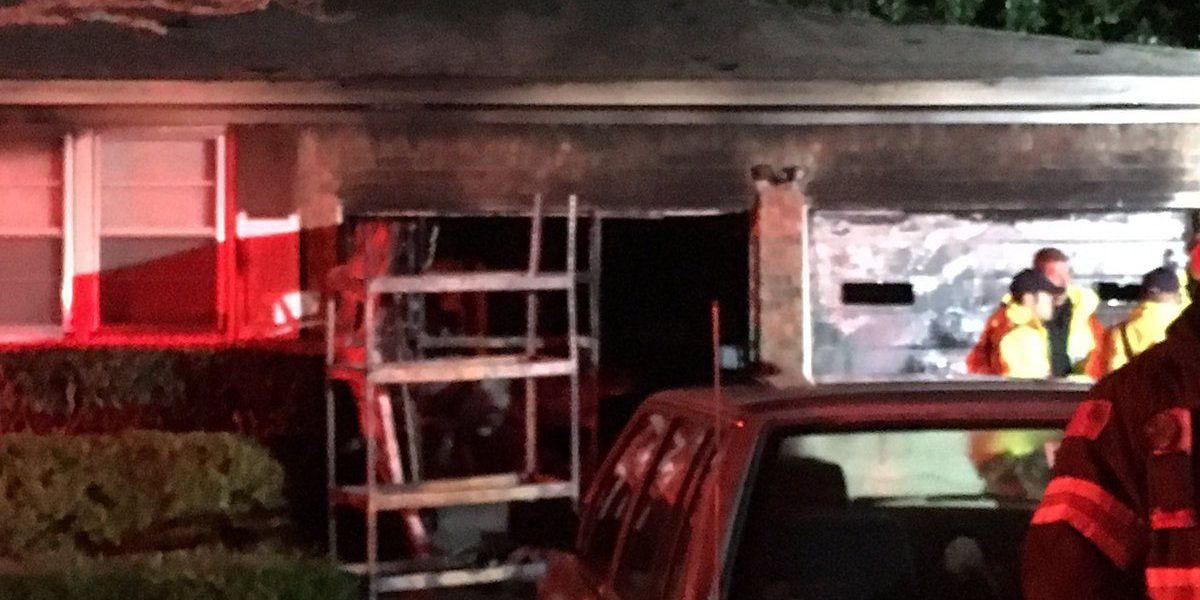 Emergency crews extinguish garage fire in West Ashley