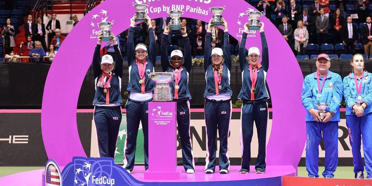 Rogers, Team USA win first Fed Cup in 17 years