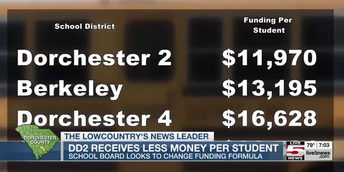 VIDEO: Dorchester Dist. 2 funding among the lowest in the state per student