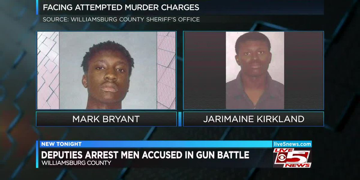 VIDEO: Deputies: Two arrested after gun battle at Lowcountry community center injures man