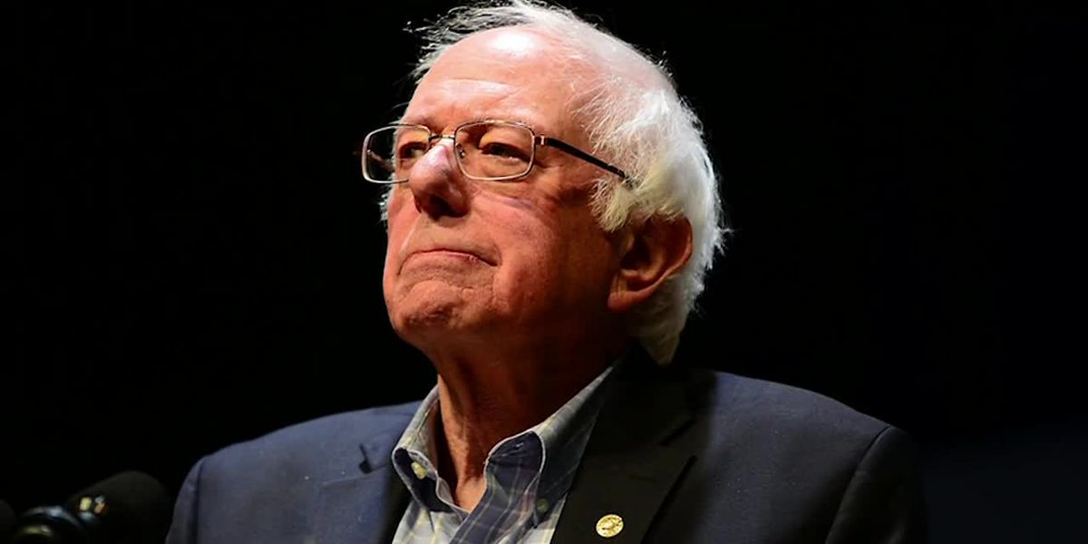 Bernie Sanders Gets 7 Stitches After Cutting Head On