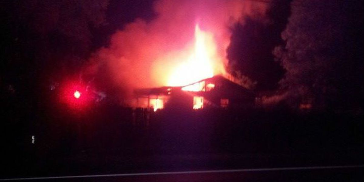 Firefighters investigating fire at vacant home