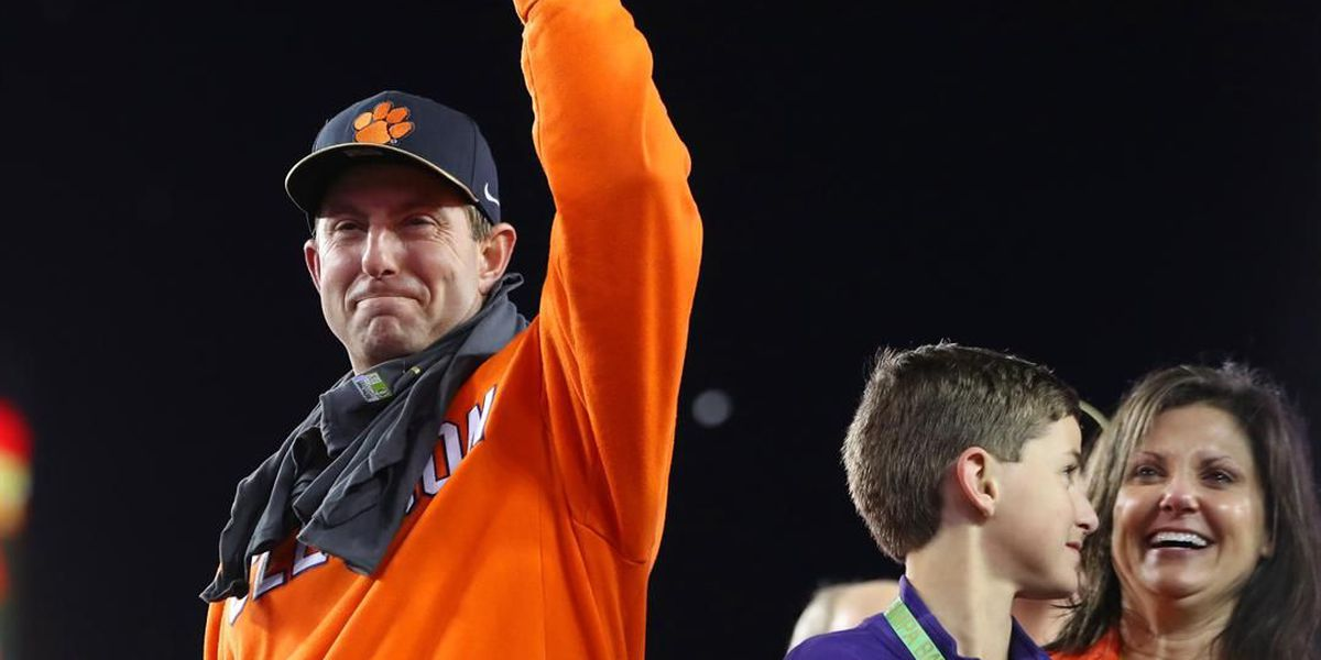 Clemson ranked 4th in first CFP poll