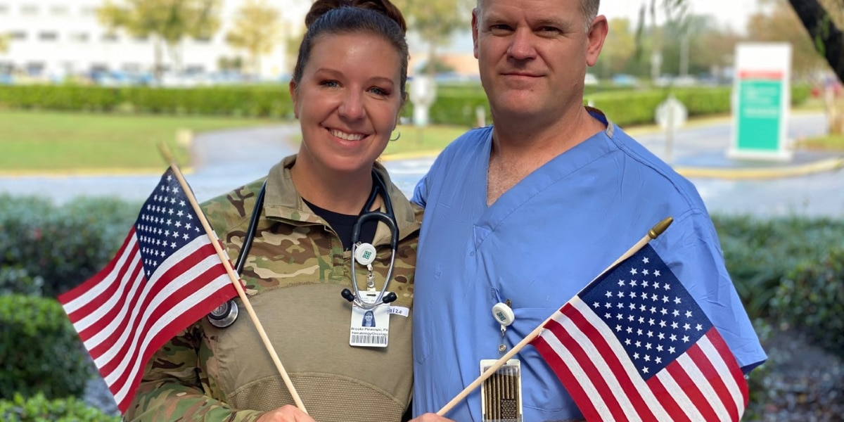 WATCH: Trident Medical welcomes physician assistant returning from Iraq