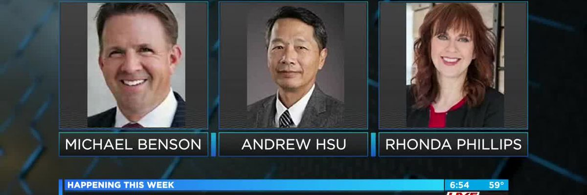 VIDEO: CofC presidential candidates visiting campus this week