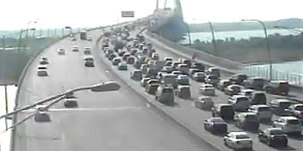 Lanes reopen after accident on Ravenel Bridge