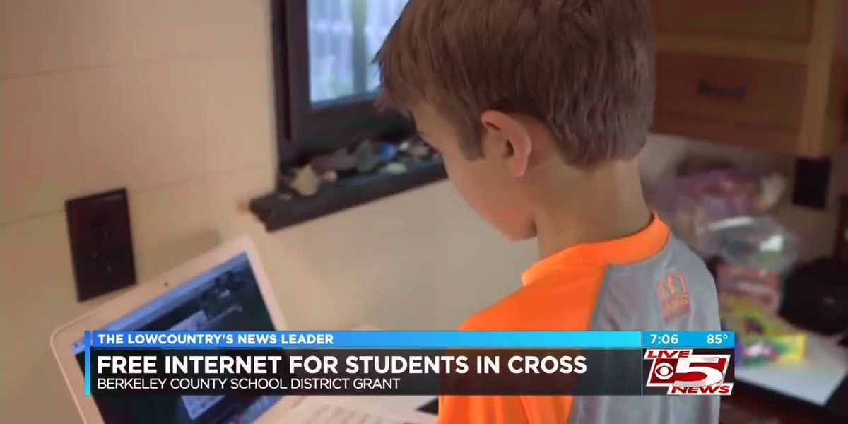 Grant will put free Internet in more than 300 Berkeley County homes with school-age children