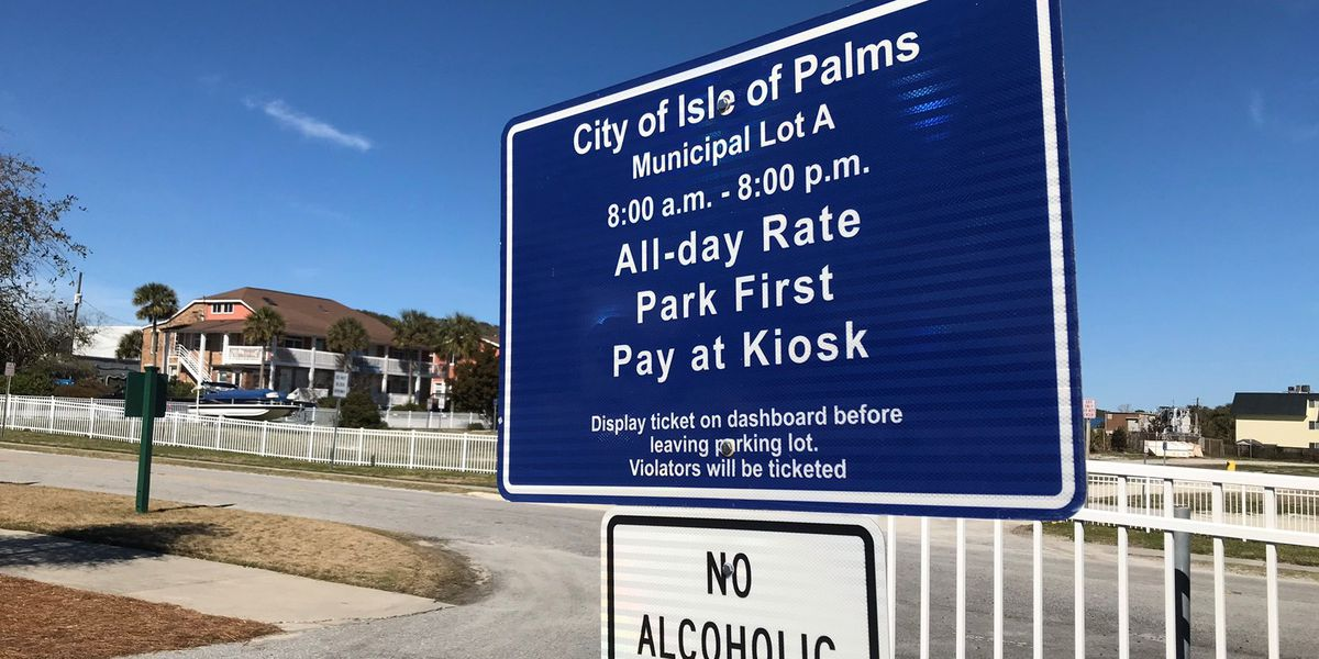 Isle of Palms parking fees to increase after new parking fees decrease city's revenue
