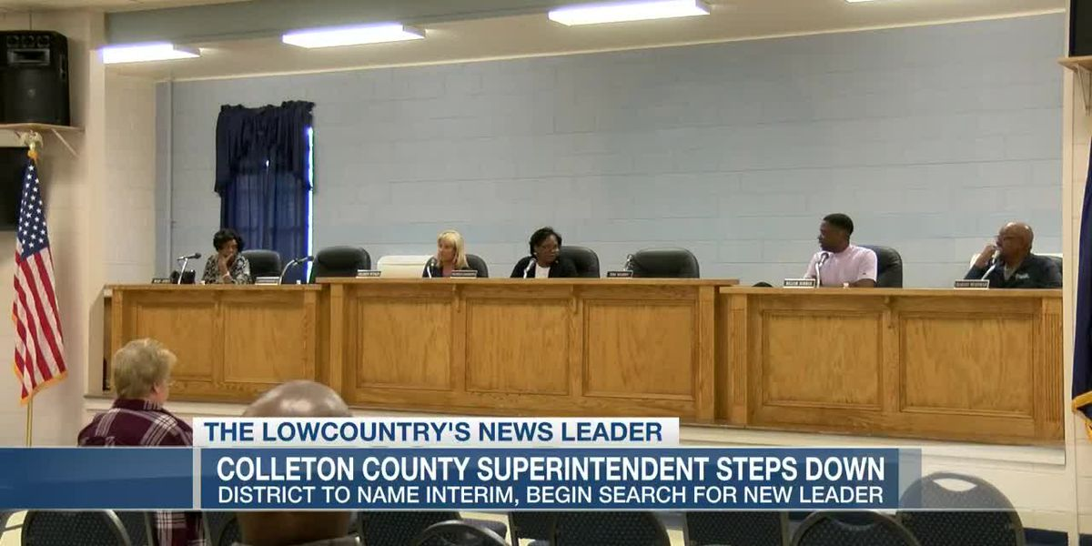 VIDEO: Colleton County School superintendent resigns