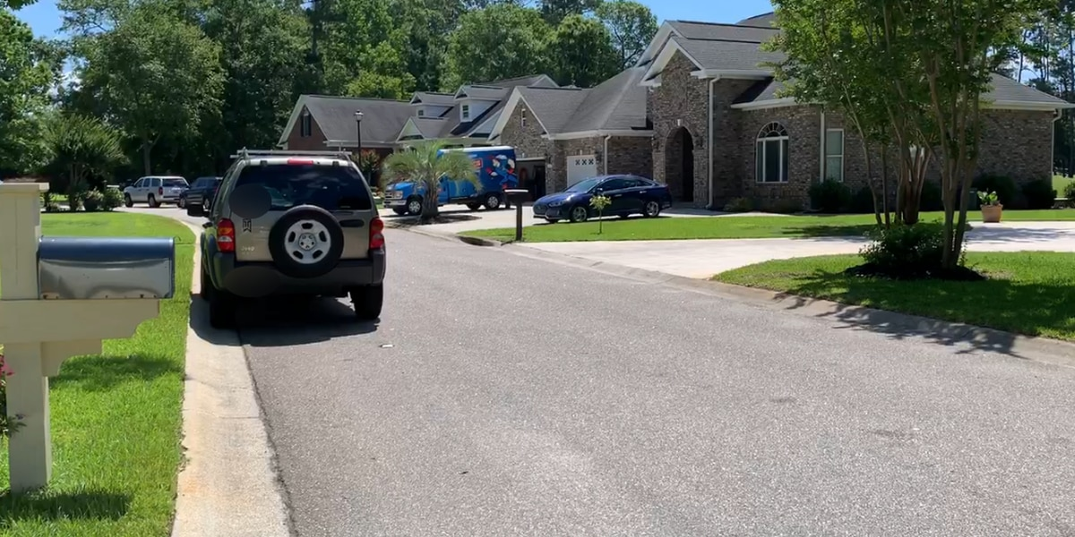 Police return to home of Murrells Inlet woman facing charges connected to her husband's death