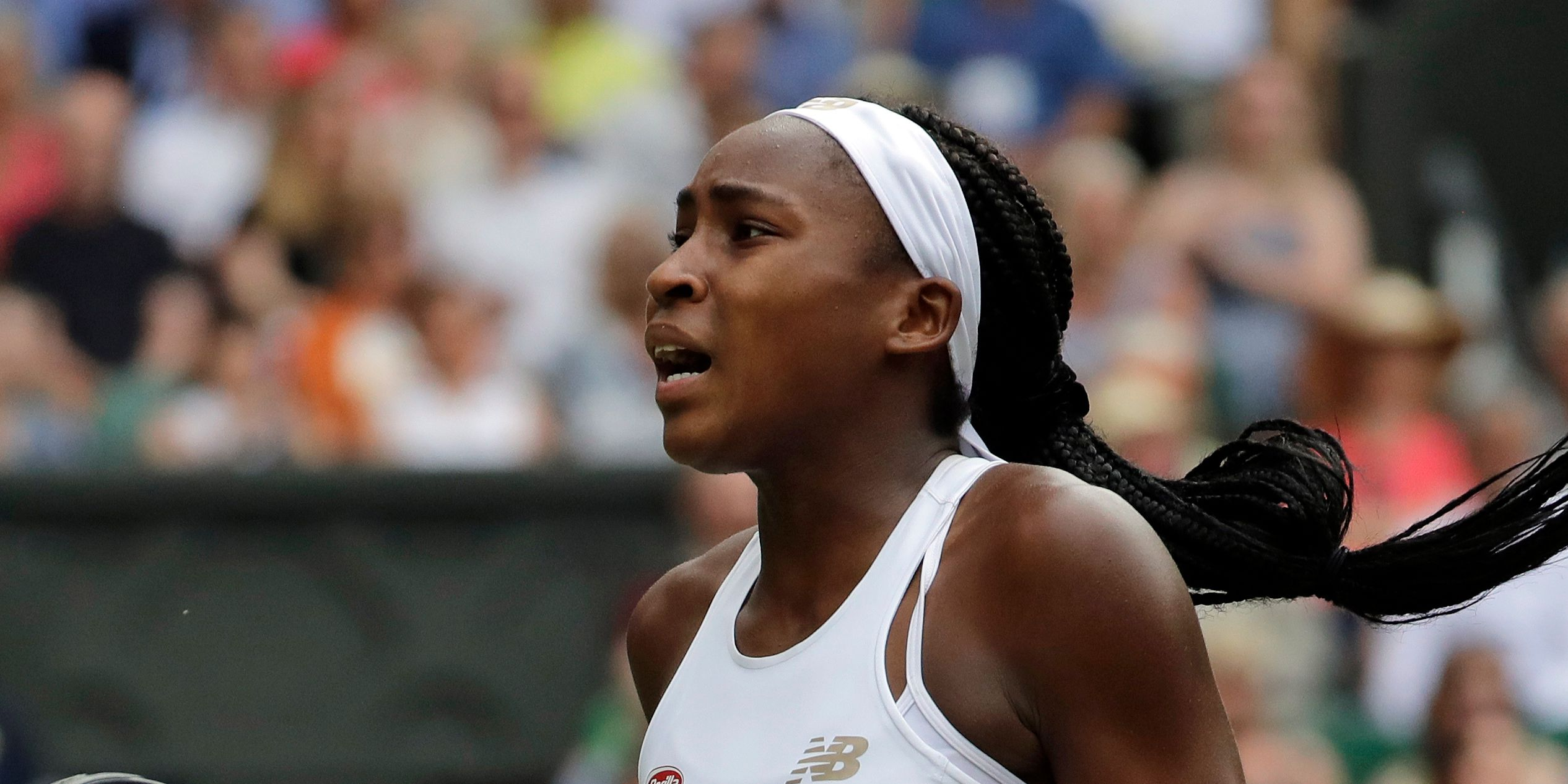 Coco Gauff loses at Wimbledon, while Williams wins again