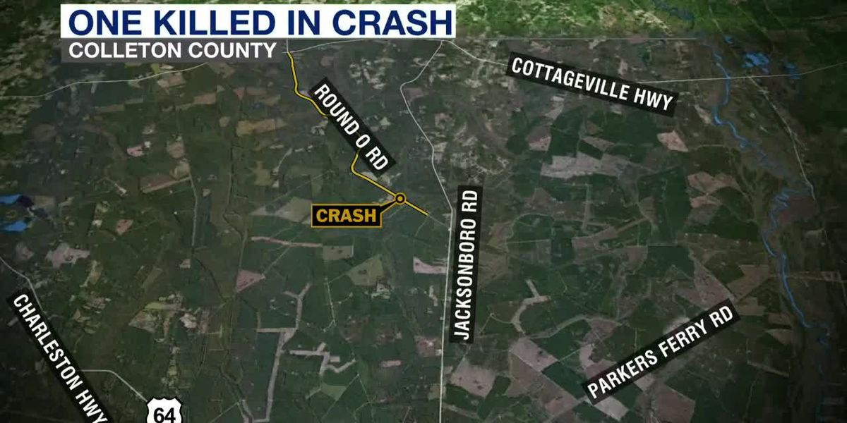 VIDEO: One killed in Colleton County crash, troopers say