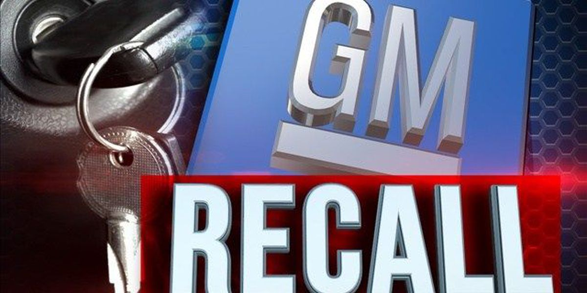 GM recalling 117,000 vehicles for stalling risk