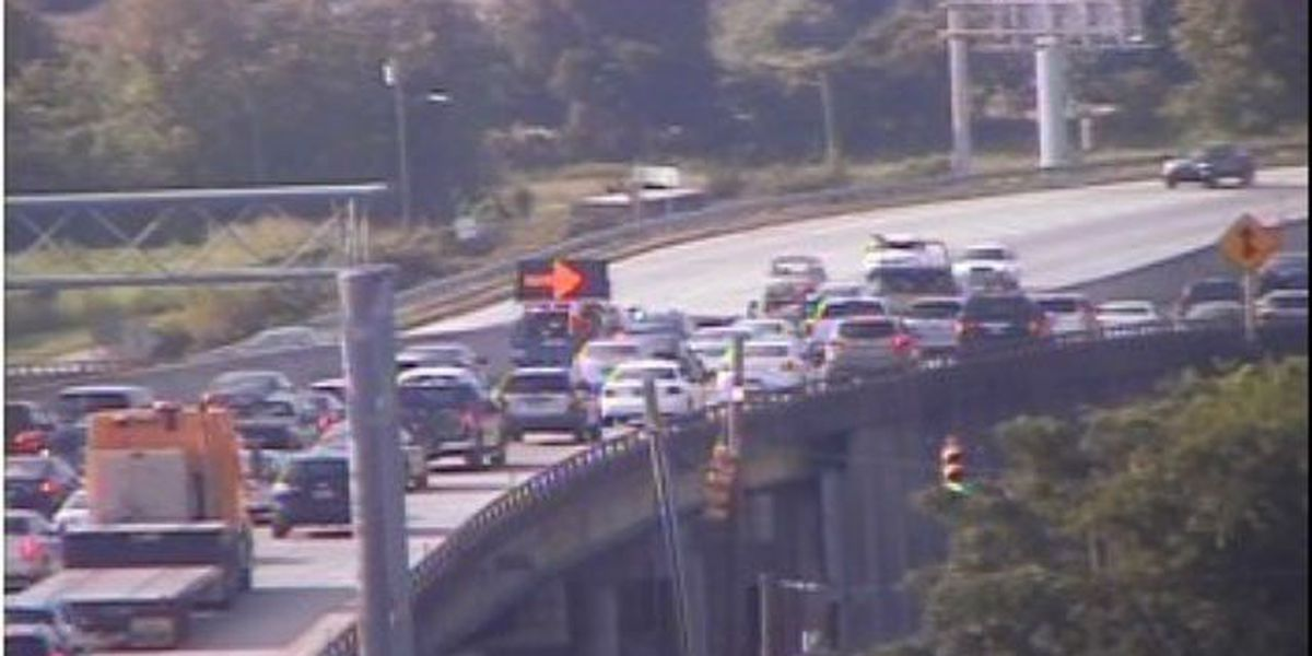 Traffic back to normal on I-26 near Morrison Drive exit following accident