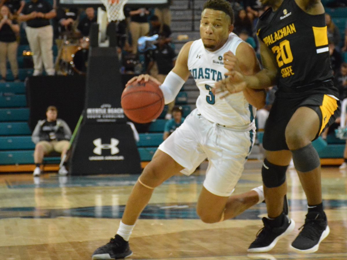 Coastal ends 3-game Skid with Win Against Appalachian State