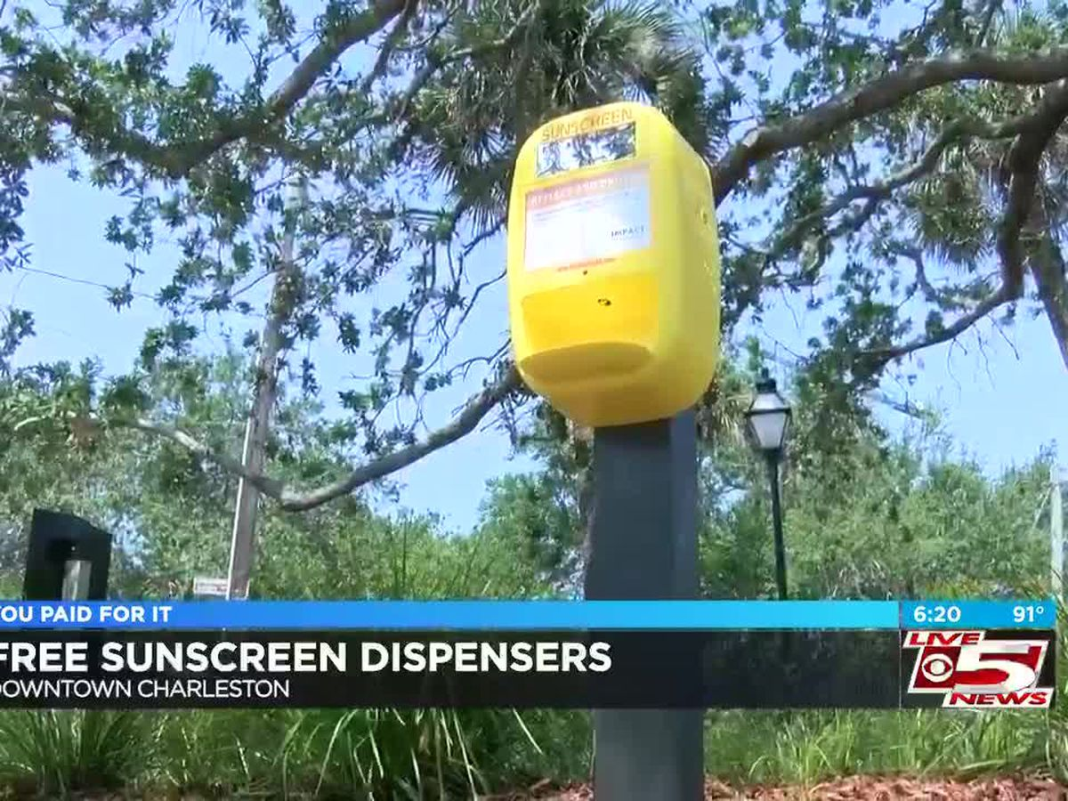 Cost and locations for sunscreen dispensers